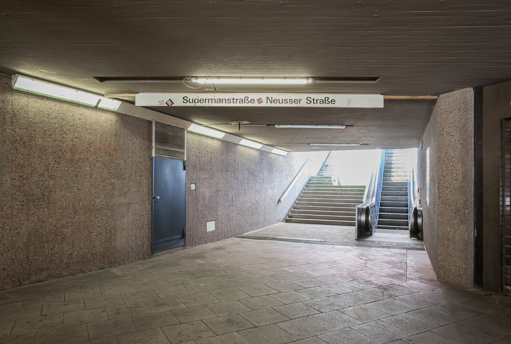 Sudermannstraße / Ecke Neusser Straße, Foto: M. Plüddemann
