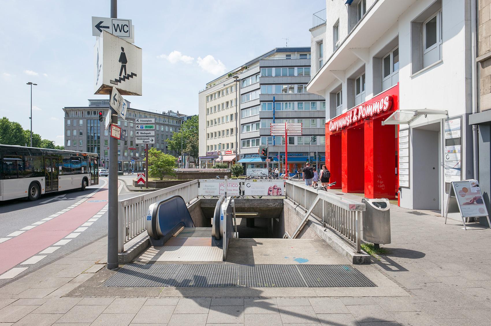 Riehler Straße / Ecke Neusser, Foto: M. Plüddemann
