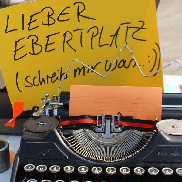 Zeitreise Ebertplatz, Juni 2018, Foto: Helle Habenicht