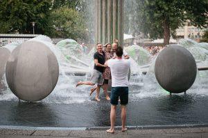 Sommerfest, Ebertplatz, Juli 2018, Foto: Astrid Piethan