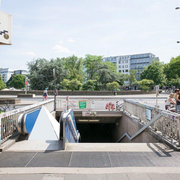 Perspektive von Evamaria Schaller und Vera Drebusch, Rolltreppenausschreibung Ebertplatz, August 2018