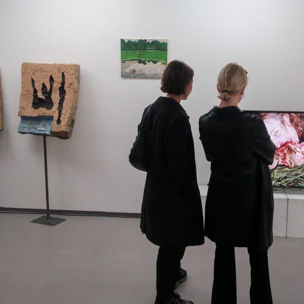 """Feriengäste"" im LABOR, Ebertplatzpassage 2018, Foto: Michael Nowottny"