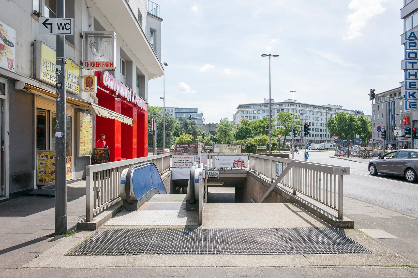 Neusser Straße, Foto: M. Plüddemann