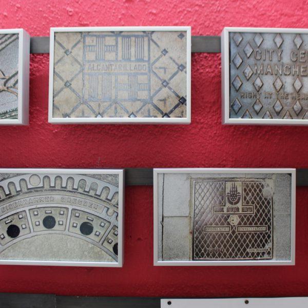 Andreas Treutinger: Die Pforten des Styx, Ausstellung im Labor, Oktober 2018, Foto: Helle Habenicht